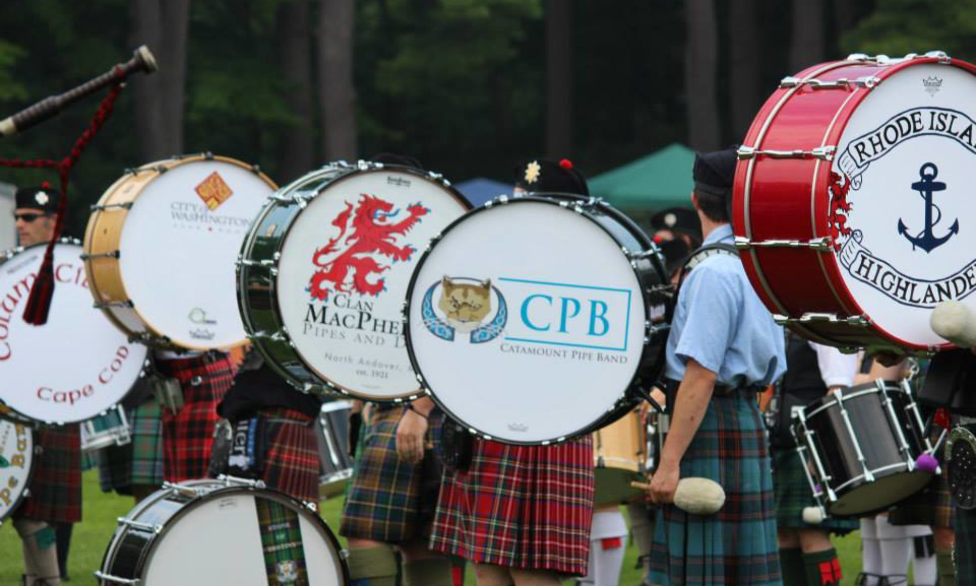 Clan MacPherson Pipes and Drums